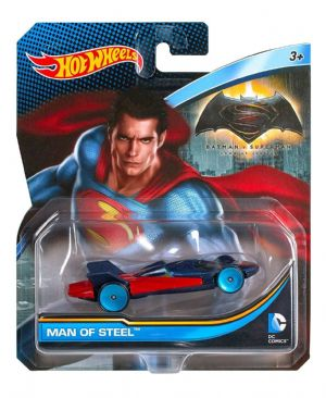 Hot Wheels DC Comics Batman vs Superman Dawn of Justice - Man of Steel - DKJ79